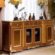 Custom Best Dining Room Storage Furniture 5236 | Oe-fashion Cabinet Furniture, Dining Room Furniture, Dining Chairs, Dining Table, Furniture Covers, Furniture Styles, Cool Furniture, Dining Room Storage, Wine Cabinets