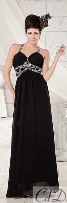 Black evening dress #CDdress #eveningdress MOM WANT,S TO LOOK LIKE THIS !!!  HOT