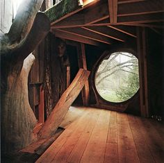 When I was little all I wanted was to live in a treehouse.