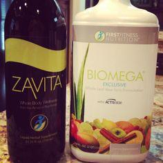 Love mixing Zavita & Biomega together!   MacyMartin.FirstFitness.com