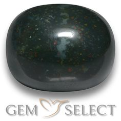 GemSelect features this natural untreated Bloodstone from Madagascar. This Green Bloodstone weighs 12.2ct and measures 15.3 x 12.4mm in size. More Oval Cabochon Bloodstone is available on gemselect.com #birthstones #healing #jewelrystone #loosegemstones #buygems #gemstonelover #naturalgemstone #coloredgemstones #gemstones #gem #gems #gemselect #sale #shopping #gemshopping #naturalbloodstone #bloodstone #greenbloodstone #ovalgem #ovalgems #greengem #green Green Gemstones, Loose Gemstones, Natural Gemstones, Buy Gems, Gemstone Colors, Madagascar, Shades Of Green, Stone Jewelry, Peridot