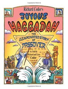 Richard Codor's Joyous Haggadah:A Children and Family Cartoon Haggadah for Passover Seder