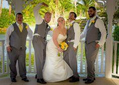 Fun Wedding in the Grove.