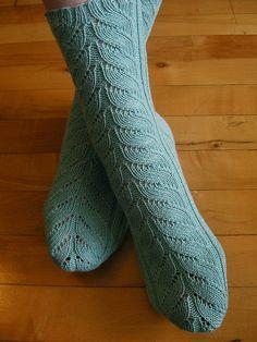 Ravelry: Artichoke Socks pattern by Megan Humphrey