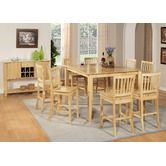 """Found it at Wayfair - Branson Counter Height Dining Table   36"""" H x 42 - 54"""" W x 54"""" D  12"""" Extension leaf"""