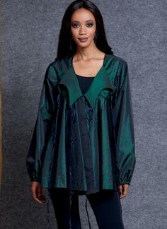 V1609 | Misses' Jacket | Vogue Patterns