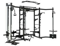 The Force USA MyRack Modular Power Rack system can be designed to suit your workout and needs! Simply start with the Force USA MyRack base unit add add power rack attachments according to your needs. Diy Home Gym, Gym Room At Home, Home Gym Equipment, No Equipment Workout, Fitness Equipment, Gym Fitness, Diy Power Rack, Usa Gym, Squat Stands