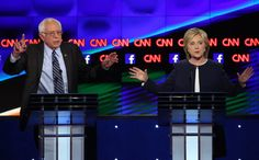 Oct 14, 2015 JOSH HANER/THE NEW YORK TIMES Hillary Rodham Clinton attacked Senator Bernie Sanders's voting record and views on capitalism. More coverage, Pages A16-17.