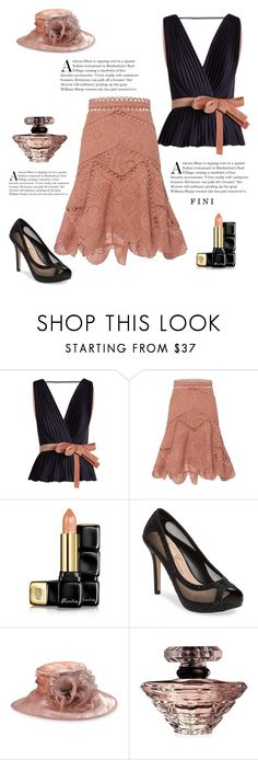 """""""A bright morning"""" by fini-i ❤ liked on Polyvore featuring Roksanda, Zimmermann, Guerlain, Lauren Lorraine, F&M Hats and Lancôme"""