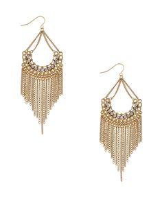 i love big earrings
