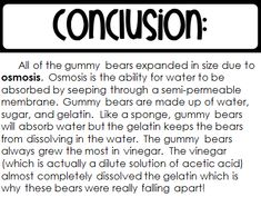 Gummy Bear Osmosis Science Experiment - How to Homeschool The Effective Pictures We Offer You About Gummy Bear Science Project, Gummy Bear Experiment, Science Experiments Kids, Science Lessons, Science For Kids, Science Fair Projects Boards, Stem Projects, School Projects, Gummy Bear Osmosis
