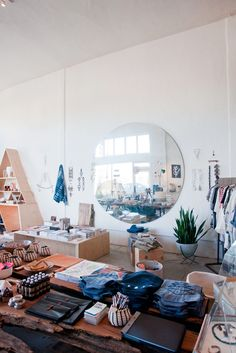 """The store is so beautifully curated. Do you have a philosophy in terms of how you pick and choose what products to sell?   """"Usually it's stuff that we fall in love with. Serena and I put our heads together and bounce ideas off of each other."""" #refinery29 http://www.refinery29.com/2014/01/61206/hannah-henderson-general-store#slide-4"""