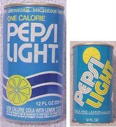 The original Pepsi light from the 70's.  It was basically diet lemon Pepsi.