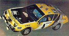 Monte Carlo 1976 - Nicolas Jean-Pierre - Laverne VincenticonAlpine-Renault A310