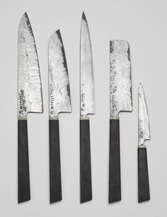 Damascus Steel Bog Oak And Horn Kitchen Knife Dovedale Design Amazing Kitchen Knife Design Inspiration Design