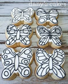 Paint Cookies, Roll Cookies, Ice Cream Cookies, Cake Cookies, Sugar Cookies, Cookie Designs, Cookie Ideas, Cookie Recipes, Bugs And Insects