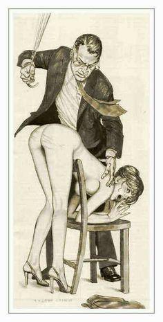 Erotic art spank
