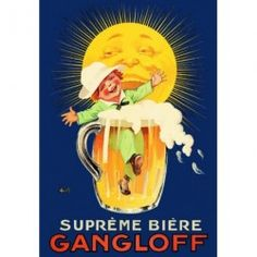 Chope - Suprême bière Gangloff