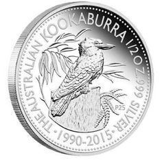Anniversary Australian Kookaburra 2015 Pure Silver Coin Proof Quality Pure Silver Anniversary Kookaburra Design High Relief Finish Australian Legal Tender Issue Limit - Presentation Packaging Numbered Certificate of Authenticity Silver Coins For Sale, Gold And Silver Coins, Bullion Coins, Silver Bullion, Peking, Coin Store, Foreign Coins, Coin Design, Mint Coins
