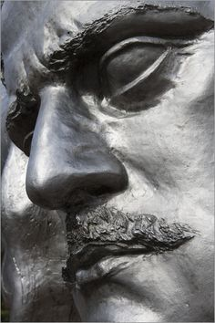 Holger Leue - Monument to composer Jean Sibelius.