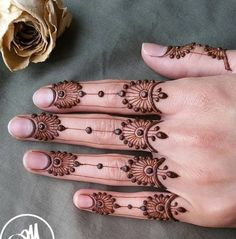 Mehndi designs that surpass the popularity charts in - Henna - Henna Hand Designs, Mehndi Designs Finger, Mehndi Designs For Beginners, Modern Mehndi Designs, Mehndi Designs For Girls, Mehndi Design Photos, Wedding Mehndi Designs, Mehndi Designs For Fingers, Beautiful Henna Designs