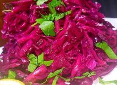 Ertesi Güne Hazır Mor Lahana Salatası (Lokanta Usulü) Cabbage, Canning, Vegetables, Fruit, Foods, Instagram, Food Food, Food Items, Cabbages
