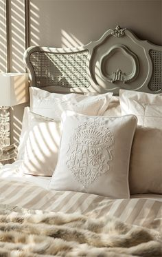 28 Interior Designs by Zara Home - MessageNote French Country Furniture, French Country House, French Country Decorating, Bedroom Bed, Master Bedroom, Bedroom Decor, Zara Home, Beautiful Bedrooms, Beautiful Beds