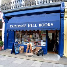 Primrose Hill Book Store in Primrose Hilll London England....by unchainedguide