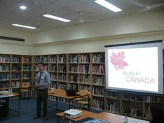 college guidance event at ecole mondiale world school.