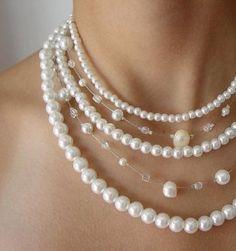 collares de perlas - Buscar con Google