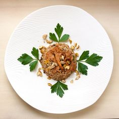 Farro, Wild Mushroom and Chestnut Salad with Sherry Vinaigrette. The warm, woodsy taste of chanterelle mushrooms is the perfect complement to the earthiness of farro and the sweetness of the chestnuts.
