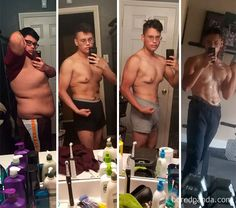256 Times People Surprised Everyone By Losing So Much Weight They Looked Like A Different Person (New Pics) - muskeln motivation - Fitness Transformation Weight Loss For Men, Diet Plans To Lose Weight, Fast Weight Loss, Ways To Lose Weight, Losing Weight, Fat Fast, Fitness Inspiration, Weight Loss Inspiration, Gewichtsverlust Motivation