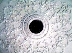 Ceiling rose ready for light fitting #ceilingrose