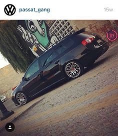 Vw b6 Passat station wagon dumped stanced lowered