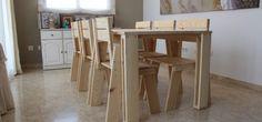 Las sillas están presentes en todos los rincones de la casa. Para comer, estudiar, leer, o como un complemento más. La LANDA Silla de comedor está diseñada por Silvia Ceñal. Es ligera resistente, y también apilable para guardarlas fácil. #MueblesLUFE #MueblesDeMadera #silla #DIY