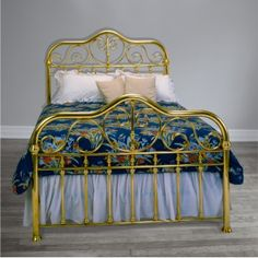 We've been creating custom Brass Beds by hand since Each bed is guaranteed for two generations making our Brass Beds the highest quality beds in the world. Brass Bed, American Manufacturing, Serendipity, Bedding Shop, Things That Bounce, Beds, Bedroom, Gold, Furniture