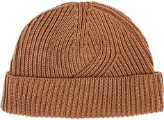 Lanvin Men's English Rib-Knit Wool-Blend Beanie