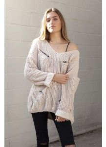 Babylon Oversized Sweater (Oatmeal)