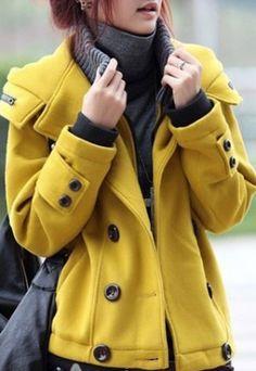 Yellow coat luv