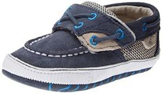 Sperry Top-Sider Soft Sole Crib Boat Shoe (Infant/Toddler) $31.95