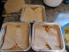 Keeza's Freezer Meals: Chicken Taco Casserole