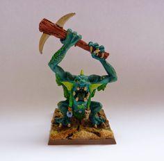 Classic Warhammer River Troll #2