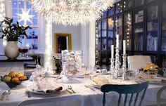 Atractivos Como decorar la Mesa de Navidad. Fotos ilustrativas.