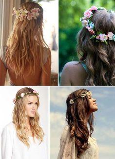 Flores en el pelo… | Comparte Mi Moda