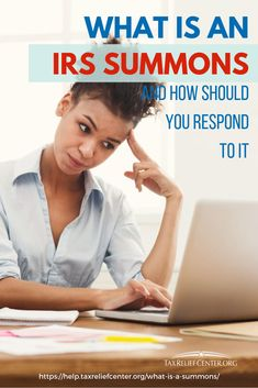 """You should not wonder or panic when asking """"what is a summons?"""" should you receive a notice from the IRS. Responding to one is easier than it seems. Types Of Taxes, Irs Forms, Contempt Of Court, Tax Help, Preparing For Retirement, Power Of Attorney, The Agency, Accusations, How To Get Rid"""