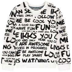 Graphic sweatshirt - 158048