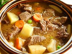 30 Must-Try Crock Pot Recipes Crock Pot Recipes, Beef Recipes For Dinner, Slow Cooker Recipes, Soup Recipes, Cooking Recipes, Healthy Recipes, Crockpot Venison Recipes, Canned Venison, Deer Recipes
