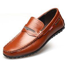 Homme Chaussures Cuir Printemps Eté Automne Hiver Confort Moccasin Bottes à la Mode Mocassins et Chaussons+D6148 Volants Pour Décontracté de 2017 ? $31.49