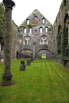Abbey in Villers-la-Ville, Belgium