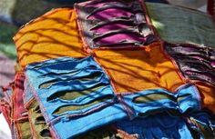 Colors, textures, shadows;  Chestnut Hill Street Fair; Philadelphia, Pennsylvania, USA.  October 2014.